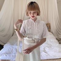vintage blouse -FA418-