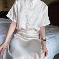 vintage blouse -FA444-
