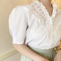 vintage blouse  -FA459-