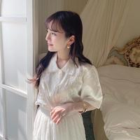 vintage blouse -FA414-