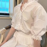vintage blouse -FA451-