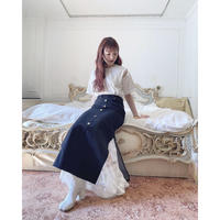 Acka original denim skirt -FA437-