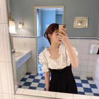 vintage tyrolean blouse -FA454-