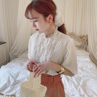 vintage blouse -FA380-
