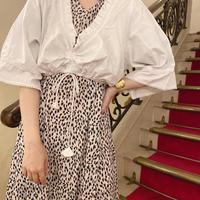 vintage tyrolean blouse -FA450-