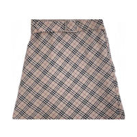 Burberry vintage skirt -B025-
