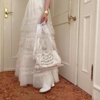 Acka original clear tote bag -FA034-