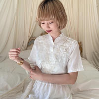 vintage blouse -FA422-