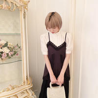 vintage blouse -FA389-