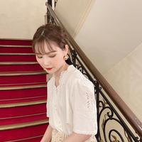 vintage blouse  -FA466-