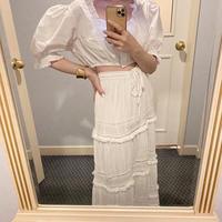 vintage tyrolean blouse -FA467-