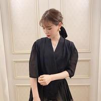 vintage blouse  -FA448-