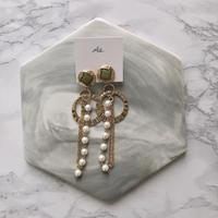 handmade  parl_earring  -613-