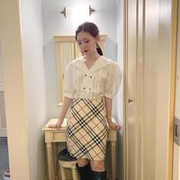 vintage blouse  -FA457-