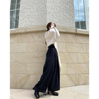 wide chino pants -FA487-