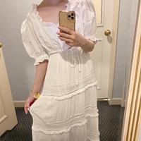 vintage lace skirt  0024