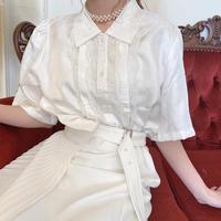 vintage lace blouse -FA377-