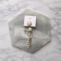 handmade 片耳 earring  -614-