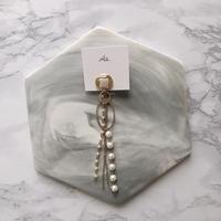 handmade 片耳earring  -637-