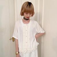 vintage blouse -FA416-