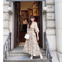 Acka original flower skirt