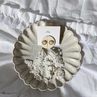 handmade  fringe earring  -620-