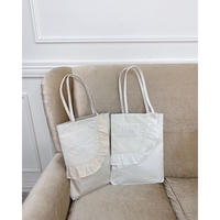 Acka original lace tote bag