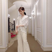 vintage blouse  -FA449-