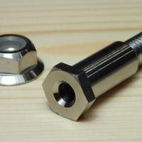 NISSINマスター用レバー取り付け ボルトナットセット 64チタン製