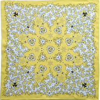 KIZM Happy Bandana_Banana Yellow