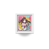 【Kizuna AI 5th メモリアル】 歴代ライブポスター額縁スタンドバッジ (A.I.Party! 2019)