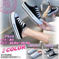 新作 楽ちん 夏物 キャンバス厚底スニーカー サンダル 歩きやすい 韓国 通学 かわいい サイズ豊富 ブラック 2062