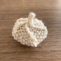リカちゃんサイズ ベレー帽ホワイト