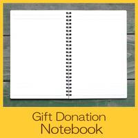 Gift Donation Notebook UG0003-e