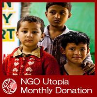 NGO Utopia Monthly Donation 50$(US) UD0010-e