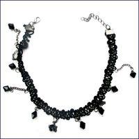 Black Beads Chorker  (U0041-e)