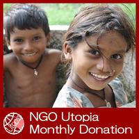 NGO Utopia Monthly Donation 30$(US) UD0009-e