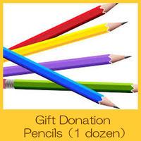 Gift Donation Pencils (1 dozen)  UG0001-e