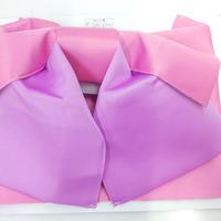 浴衣用帯 ピンク/パープル2色