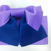 浴衣用帯 パープル/紺色2色
