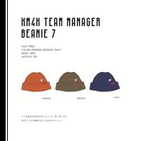 【※KM4K SNOW 2020/2021  御予約専用※】 KM4K TEAM MANAGER BEANIE 7