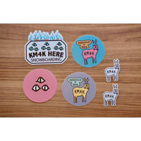 KM4K STICKER (6PACK)