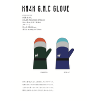 【※KM4K SNOW 2020/2021  御予約専用※】 KM4K G.M.C GLOVE