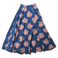 Summer  hibiscus skirt