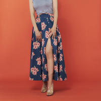 Summer  hibiscus skirt