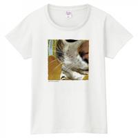 Apud me es. ~そばにいて~ ホワイトTシャツ [WOMEN]