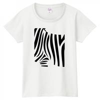 ゼブラシルエット Tシャツ/2カラー [WOMEN]