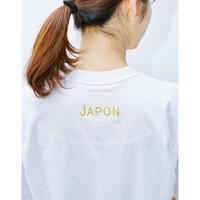 "Charity : ""Fabriqué au Japon"" Embroidered T shirt (Unisex design)"