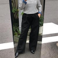 フリーサイズコットンパンツ(黒)大きめサイズ