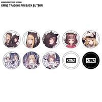 KMNZ TRADING PIN-BACK BUTTON トレーディングバッジセット